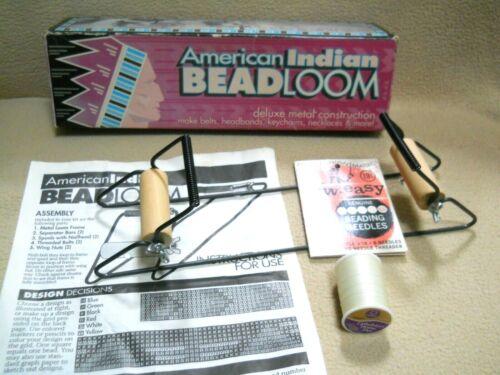 Vintage Darice American Indian Bead Loom / Crafts / Belts / Headbands/ Keychains