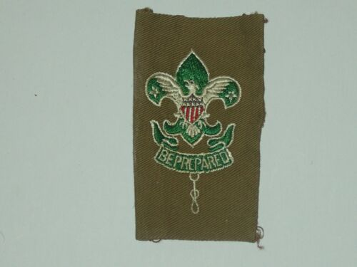 scoutmaster patch on full square - vgood - glue on back