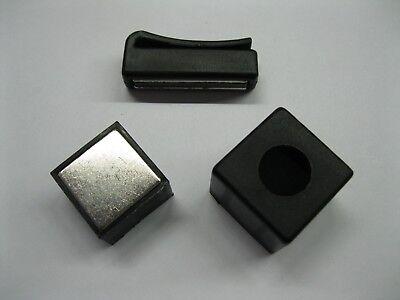 New Magnetic Chalk Holder with Belt Clip Billard Pool Table