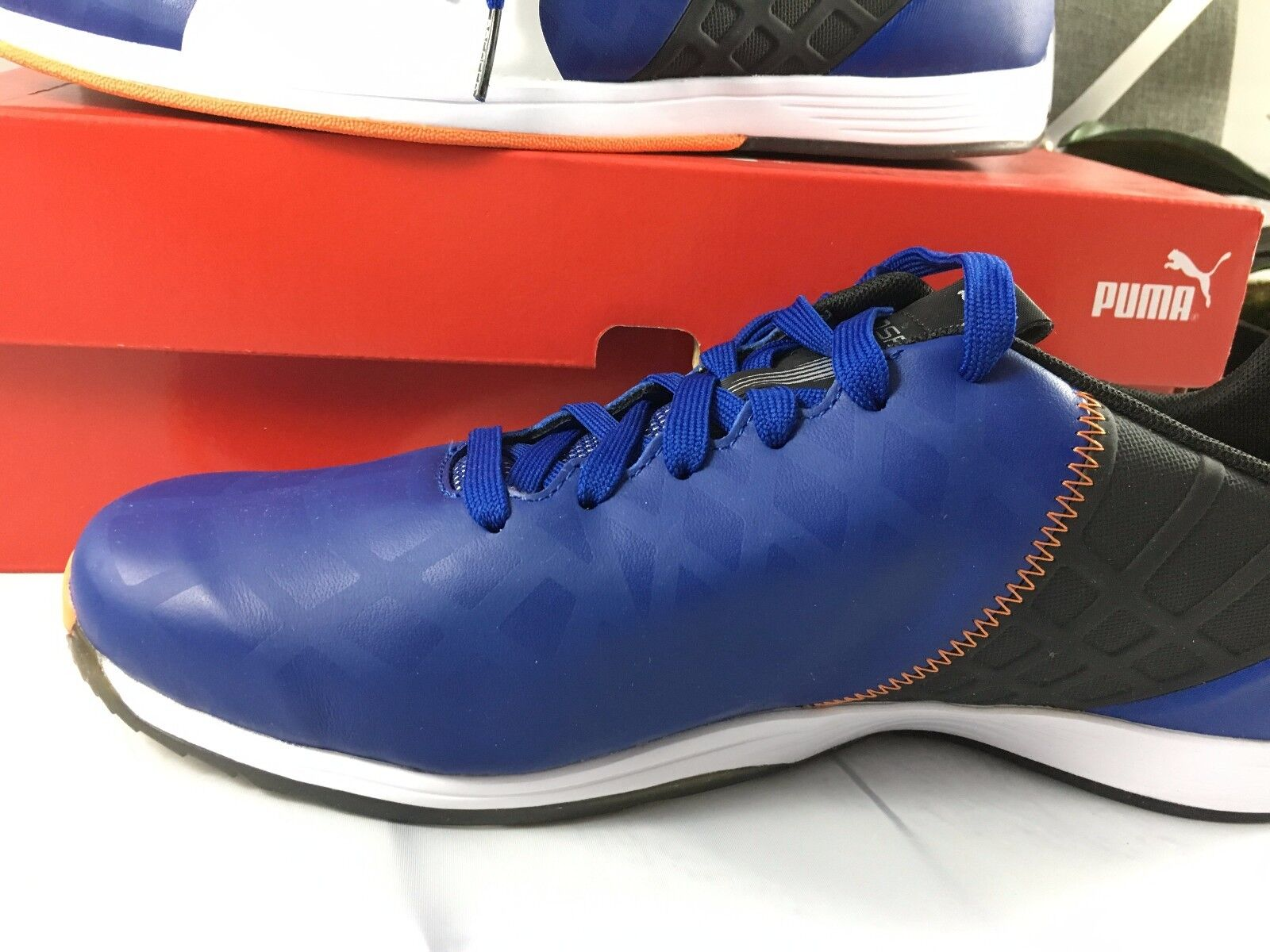 Muelle del puente tormenta Receptor  NEW in BOX PUMA evoSPEED 1.4 SF Men's Shoes sneakers RED 305555 02 PUMA  Suede Series Athletic Shoes for Men Clothing, Shoes & Accessories