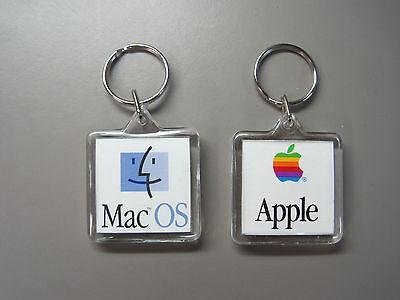 Rare Collectible Vintage Apple Mac OS Promo Key Chain