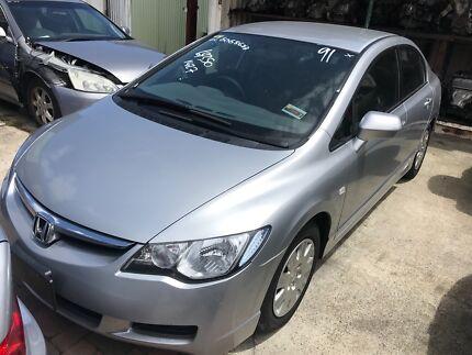 Honda Civic Sedan Wrecking******2007******2009******2011 2012