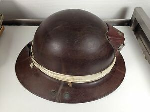 casque ou barrette de mineur outil ancien de la mine ebay. Black Bedroom Furniture Sets. Home Design Ideas