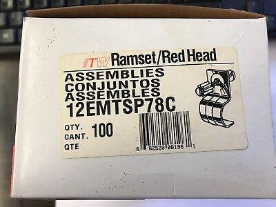 Ramset 12 Emt Conduit Assemblies On A 78 Pin- Box Of 100