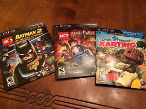 3 games - great for kids. PS3
