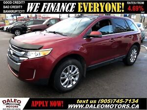 2013 Ford Edge Limited|LEATHER|HEATED SEATS|BACKUP CAM