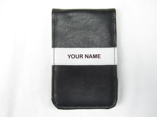 Personalized Sunfish Leather Golf Scorecard Yardage Book Holder Cover