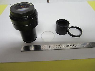 Optical Zeiss Pro Eyepiece Microscope Optics Bottom Lens Has Hit Bing5-h-12