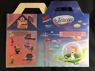 The Jetson Kids (Hanna Barbera THE JETSONS Wendys Fast Food Advertising 1989 Kids Happy Meal)