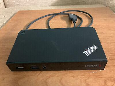 Lenovo ThinkPad OneLink Plus Dock - Black (40A40090US)