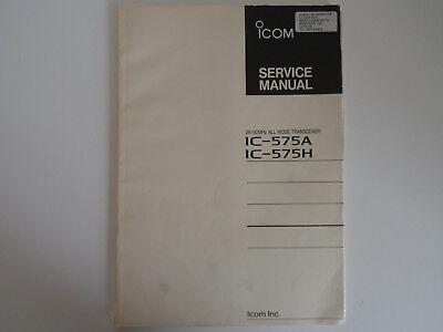 (ICOM-575 (GENUINE PRINT SERVICE MANUAL ONLY)...........RADIO_TRADER_IRELAND.)