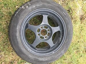 4 rims - off a Honda Civic