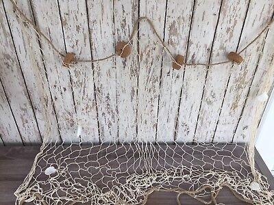 3'x5' Decorative Fish Net w/ Shells & Cork Floats ~ Luau Party ~ Nautical Theme