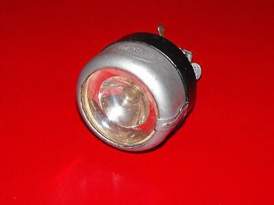 altes Fahrrad Oldtimer Lampe Scheinwerfer Trommelscheinwerfer Radsonne Halterung