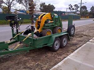 Kanga loader on trailer for sale Wanneroo Wanneroo Area Preview