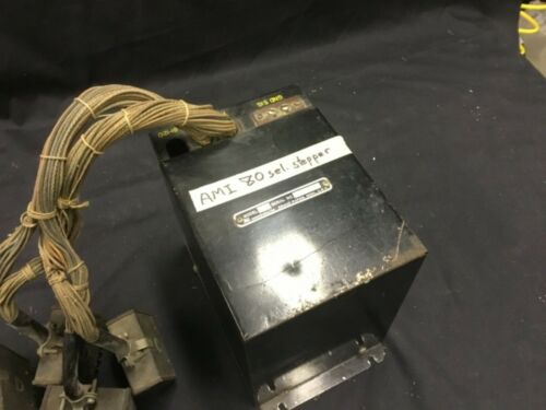 AMI jukebox stepper, model S-80