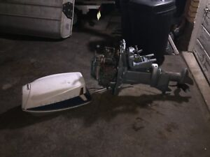 28 horsepower evinrude trade for smaller motor