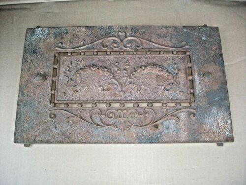 Unique ++ Cast Iron Fireplace Architectural 12x20 aprx Solid Piece