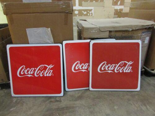 Lot of 10 Coca Cola Metal Table Porcelain Top-Mexican-Restaurant Bar-Coke-Tops
