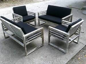 SHABBY CHIC OUTDOOR LOUNGE SET. Bonogin Gold Coast South Preview