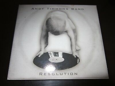 ANDY TIMMONS BAND - RESOLUTION  - CD DIGIPACK