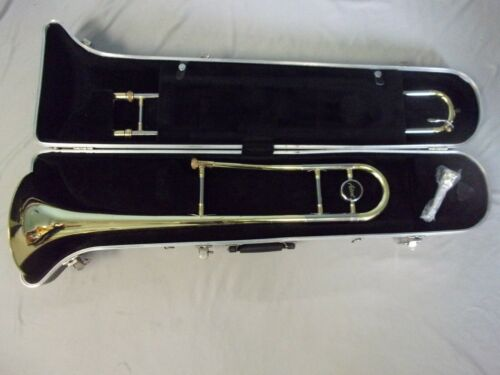 QUALITY! READY TO PLAY! ACCENT SLIDE TROMBONE + 12C  MOUTHPIECE + CASE