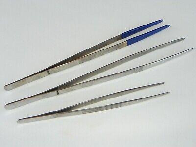 Large Stainless Steel Tweezers --- Choose 8 12 12 Vinyl Coated