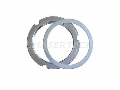 STAINLESS STEEL CNC  TRACK LOCK RING BLOCK MOJO Fixed Gear Lockring