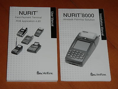 2006 User Manual Instulation Manual For Nurit 8000 Verifone New