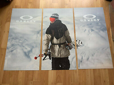 Oakley Snowboarder Skier Printed Display Magnet Sunglasses Icon O Oakley Print Sunglasses