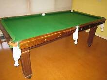 Slate-based 3/4 size Billiard Table with full accessories Horsham 3400 Horsham Area Preview