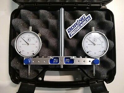 Metric Adjustable Spindle Square Mill Router Tram Tool 75-150mm Caseindicators