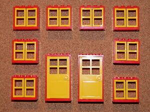 Lego windows and doors