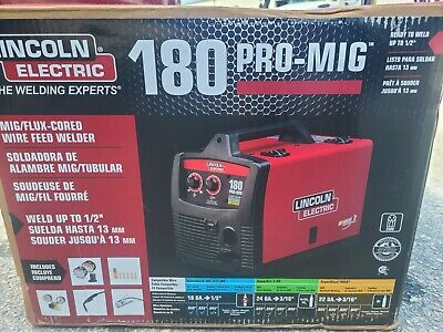 Lincoln Electric Welder Pro-mig 180