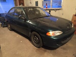 1995 Hyundai Accent Turbo Project