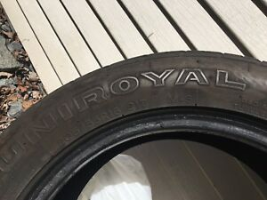 Uniroyal Tiger Paw 205 55 16 Tires  **SOLD PENDING PICK UP**
