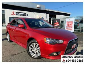 2015 Mitsubishi Lancer SE Limited; Local & no accidents!