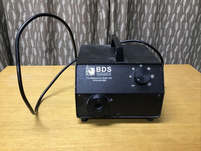 BDS FOI-150 175W Fiber Optic Light Source Illuminator Powers tested*