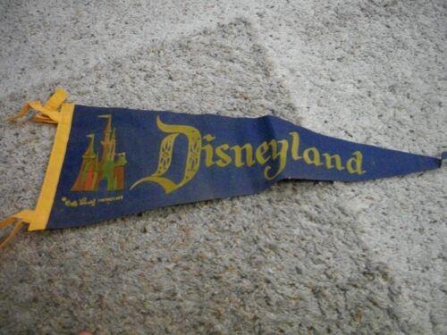 Vintage Disneyland Pennant-1960