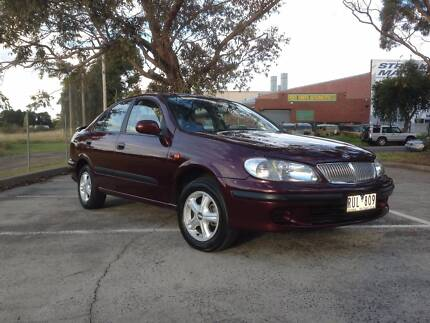 2002 Nissan Pulsar Sedan Wantirna Knox Area Preview
