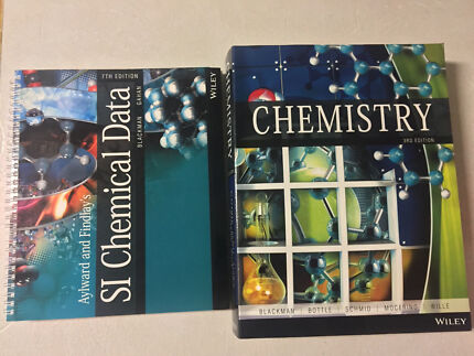 Chemistry 3rd Edition - Blackman et al. + SI Chemical Data 7th Edition