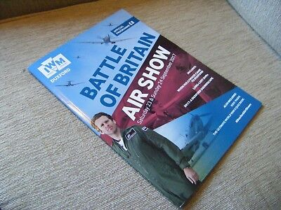 Duxford 2017 Battle of Britain Air Show Programme 23 -24 September 2017