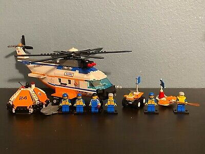 Retired Lego City Coast Guard Lot 7945, 5621, and 7736 All 100% Complete!