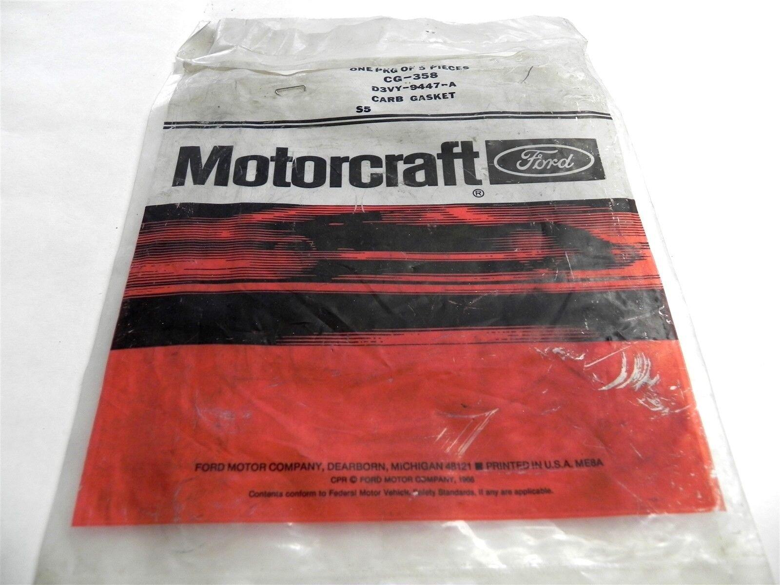 NOS 1970 1971 1972 1973 1974 FORD LINCOLN 429 460 4V CARBURETOR TO INTAKE GASKET