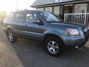 2007 Honda Pilot EX-L ONE YEAR UNLIMITED KM WARRANTY INCL!