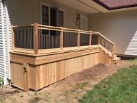 Deck and Patio Contractor - Red Seal