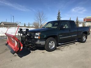 Chevy 2500 plow truck for sale