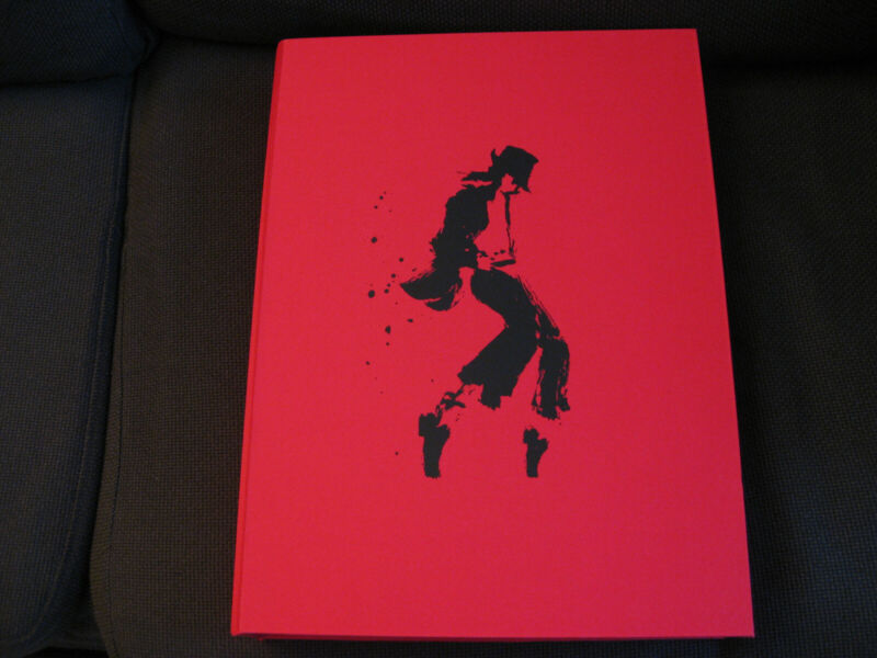 Michael Jackson Opus Biography Leather-Bound Book 2009 King of Pop