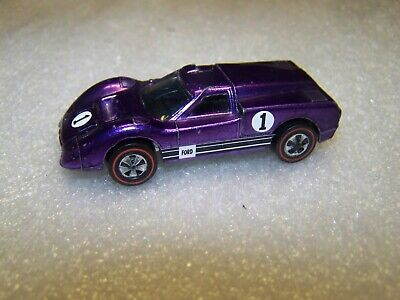 "hot wheels redline""FORD J CAR""PURPLE!NICE!MATTEL,67,SWEET 16!!"