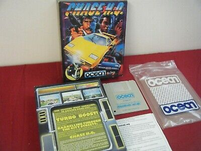 RARE CHASE HQ ATARI ST GAME COMPLETE WITH MANUAL AND DISK PROTECTOR